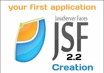 JSF 2.2 application creation on example