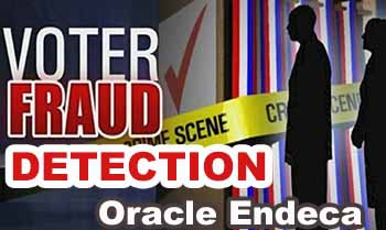 Voter Fraud Detection with Oracle Endeca Analytics apps