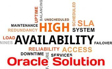 High Availability and Oracle database solution