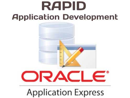 Oracle Apex RAD tool overview