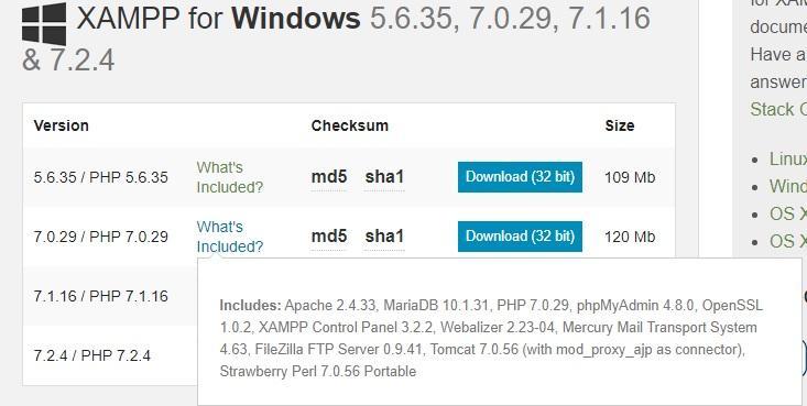 Install and use XAMPP tool on local host: php, mysql, apache