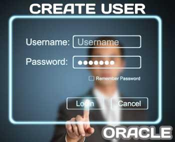 Creating password user in Oracle 12c