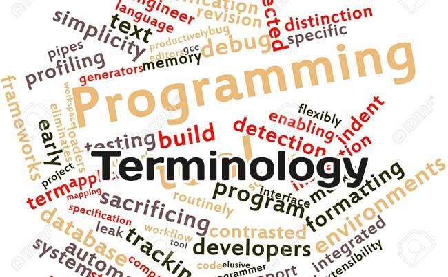 Main terms for programmers