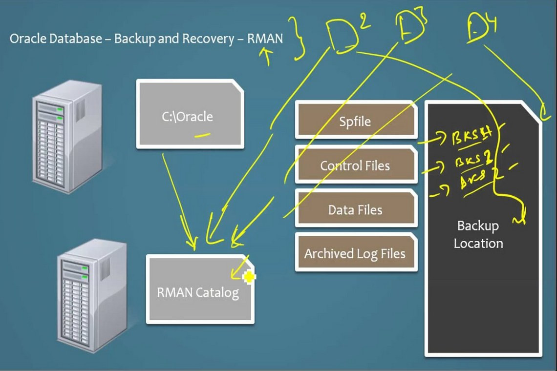 Oracle Database 12C Backup: understanding RMAN