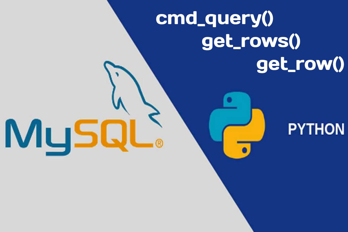 Query Execution from MySQL Connector/Python