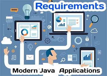 Modern Java Application Requirements