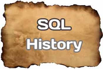A Brief History of SQL