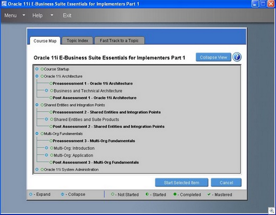 Oracle E-Bussiness Suite 11i