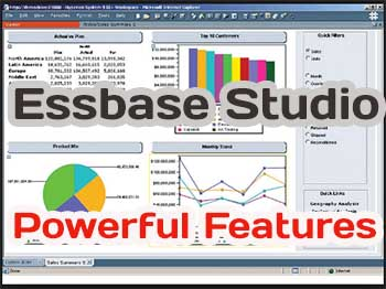 Oracle Essbase Studio powerful features