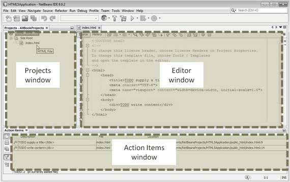 The NetBeans IDE