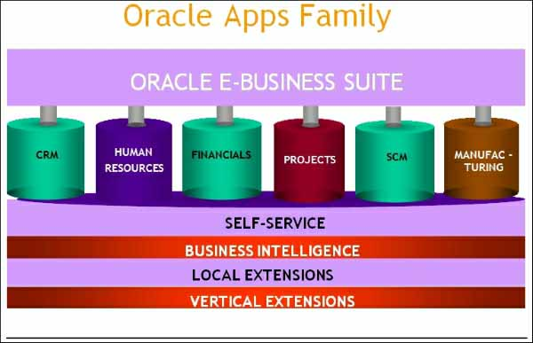 applications of E-Business Suites