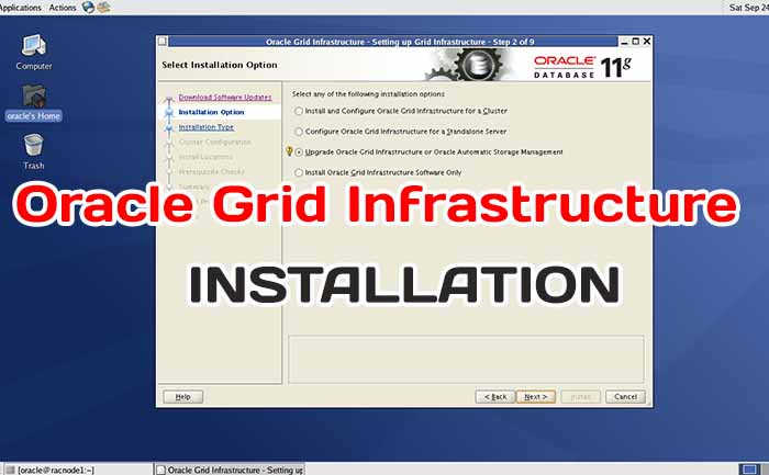 Oracle Grid Infrastructure Installation