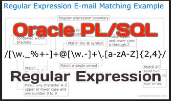 Using Regular Expression in Oracle SQL and PL/SQL
