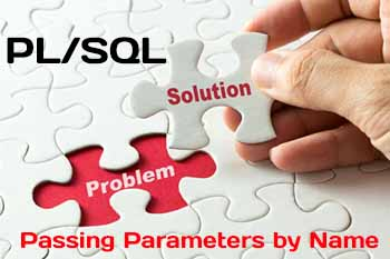 Passing Parameters by Name in PL/SQL procedure
