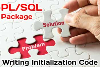 Writing Initialization Code for a Package for PL/SQL package