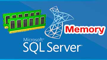 Memory component in MS SQL 2017 database server