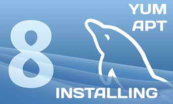 MySQL 8 install manual using Yum and APT