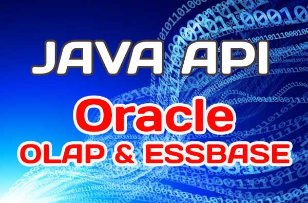 Java for build Oracle OLAP &Essbase apps