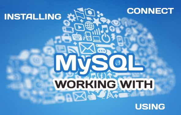 Working with MySQL database