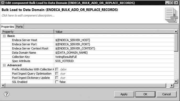 Configure Bulk Load to Data Domain control