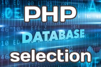 Database Choosing for PHP