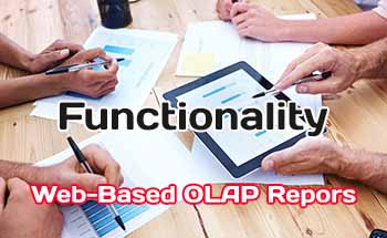 Desirable Functionality in Web-Based OLAP Reporting