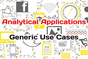 Analytical Applications Generic Use Cases