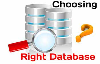 How to Choosing a database for your application?