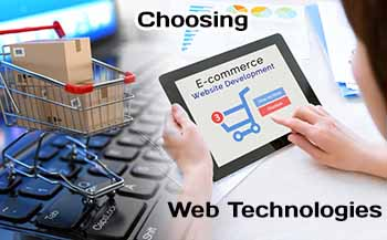 How to Choosing Web Technologies for E-Commerce project?