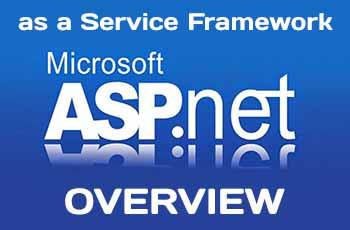 ASP.NET MVC as a Service Framework overview