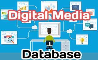 Database for Digital Media handling and access