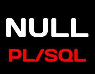 Команда NULL языка PL/SQL на примерах