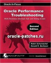 Книга Oracle Performance Troubleshooting, обложка