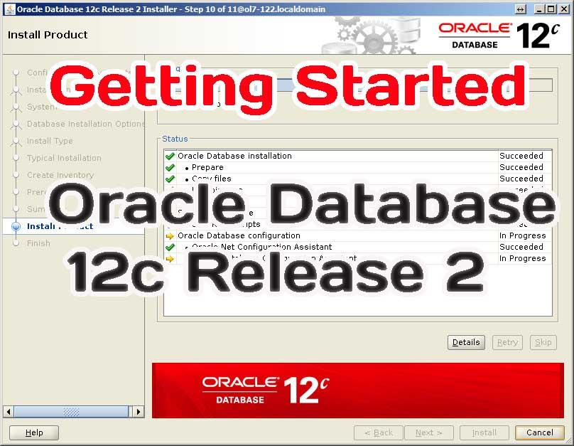 Preparing for the installation Oracle Database 12c Release 2: steps for install