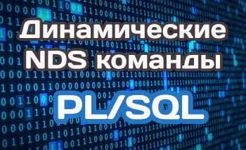Рекомендации по работе с динамическими командами (NDS) в PL/SQL