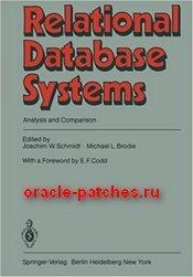 Книга Relational Database Systems: Analysis and Comparison