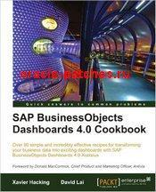 Книга SAP BusinessObjects Dashboards 4.0 Cookbook, 4 издание