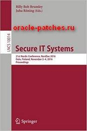Книга Secure IT Systems