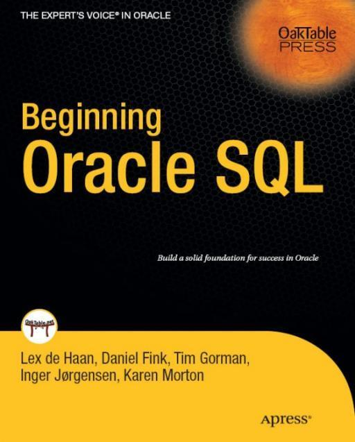 Книга Beginning oracle sql (Введение в SQL Oracle)