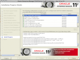 Oracle Enterprise Manager Grid Control 11gR1 Installation - Step 12 of 13