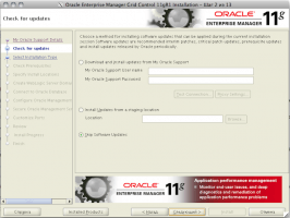 Oracle Enterprise Manager Grid Control 11gR1 Installation - Step 2 of 13
