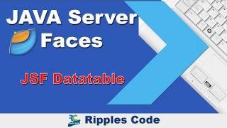 Как использовать Datatable фреймворка JSF в Netbeans IDE