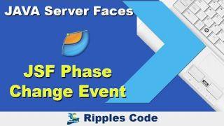 Как использовать Phase Change Event фреймворка JSF в Netbeans IDE