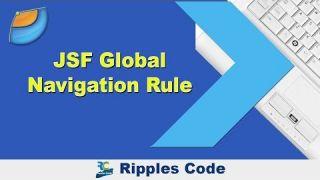 Как использовать Global Navigation Rule фреймворка JSF в Netbeans IDE