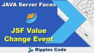 Как использовать Value Change Event фреймворка JSF в Netbeans IDE