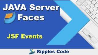 Как использовать Events фреймворка JSF в Netbeans IDE