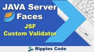 Как использовать Custom Validators (пользовательские валидаторы) фреймворка JSF в Netbeans IDE