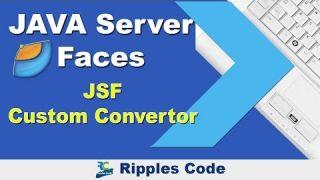 Как использовать Custom Convertor фреймворка JSF в Netbeans IDE